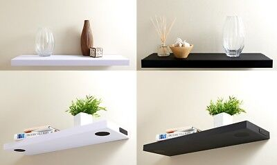 Modern Wireless Bluetooth Invisible Mounted Speaker shelf Floating Wall Shelves