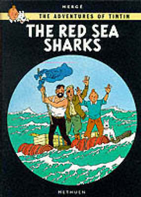 Adventures of Tintin the Red Sea Sharks (The Adventures of Tintin)-ExLibrary