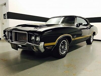 1972 Oldsmobile 442 W-30 Convertible Oldsmobile 442 Convertible! W30! Show Car Condition! Clean History! Super Clean!
