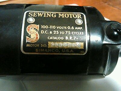Early Singer Sewing Machine Motor