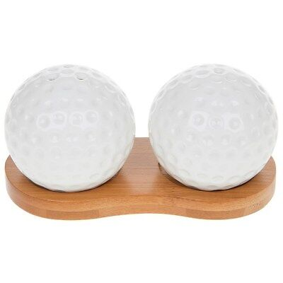 White Golf Balls Cruet Set, Gifts for Dads, Sons, Brothers, Father's Day 60481