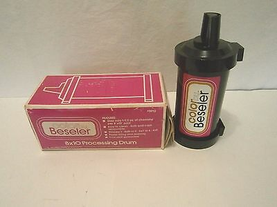 Color By Beseler - 8 X 10 Color Developing Tank - Uses 1-1/2 oz. Per Print    SH