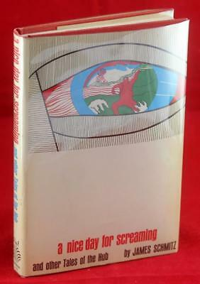 James Schmitz First Edition 1965 Nice Day For Screaming Other Tales From The Hub