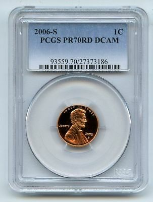 2006-S 1C DC (Proof) Lincoln Cent--PCGS Pr70 Deep Cameo