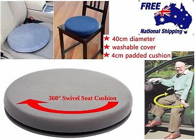 SWIVEL ORBITAL SEAT CUSHION Turning 360 For Home Office Car Stool. Free gift!!
