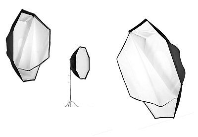 """Photoflex OctoDome 36"""" White w Removable Inner Baffle and Front Diffuser - NICE"""