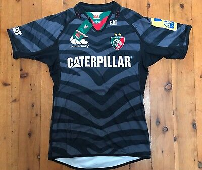 NWT England Leicester Tigers Euro/Third Test Jersey 2012/14 Sz Large Rugby Union