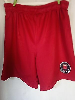 NIKE USA RED MESH BASKETBALL SHORTS Size L Maryland Terrapins Basketball Club