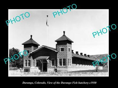 Old large historic photo of gunnison colorado view of the for Durango fish hatchery