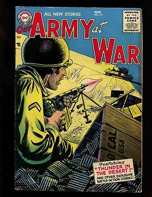 Our Army at War #44 FN- Grandenetti Andru Heath WWII Battle Stories