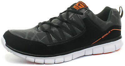 New Gola Active Luna Black Mens Trainers ALL SIZES