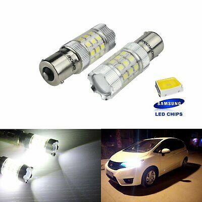 2 Ampoule Lampe Ba15S P21W Samsung 30 Smd Led Blanc Tuning Clignotant Repetiteur