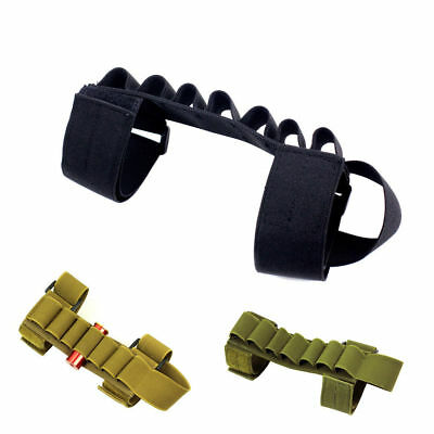 Magazine Ammo Pouch Tactical Buttstock Shotgun Shell Holder Carrier For 12G/20G