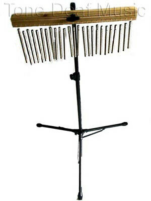 WIND CHIMES AND STAND adjustable drum kit percussion bells orchestral musical