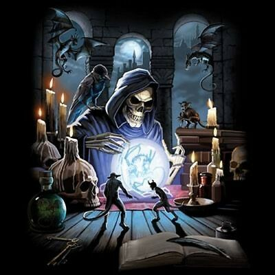 Reaper Spell (oversized print)  T Shirt You Choose Style, Size, Color 10729