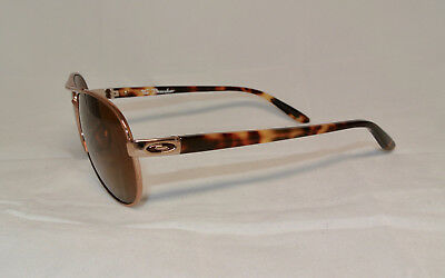 100% Authentic Oakley Polarized Tie Breaker Sunglasses Rose / Gold w Brown Lens