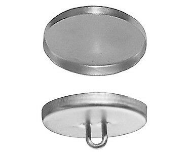 """75572 144 QTY:Osborne Covered Button Prongs w//Soft Shells,Size 45-1 1//8/"""" dia."""