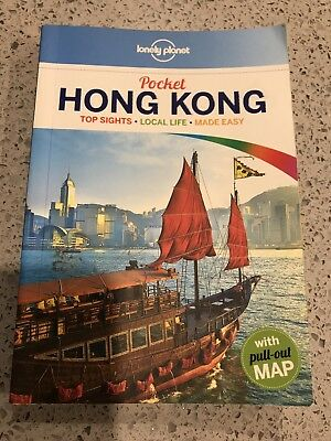 Lonely Planet Pocket HONG KONG Travel Guide Book USED