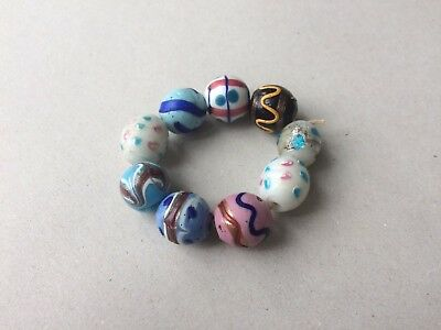 Seltene venezianische Glasperlen - Ultra rare antique Venetian fancy trade beads