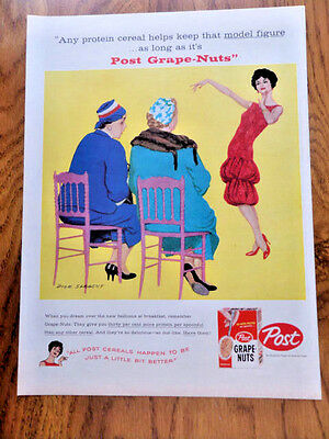 1958 Post Cereal Ad Fashion Show