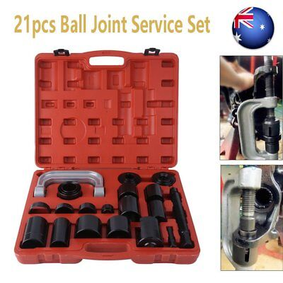 21 pcs Ball Joint Auto Repair Remover Install Adapter Tool Set Service Kit ON