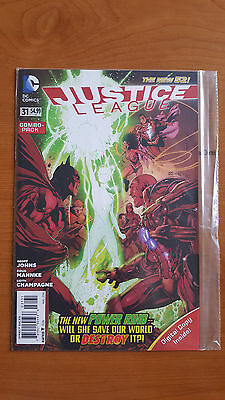 Justice League #31 New 52 SEALED Combo Pack 1st Full Appearance Jessica Cruz NM