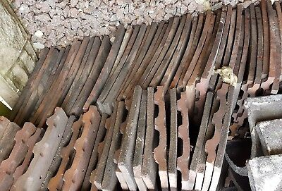 Rosemary roof tiles original 1950's reclaimed approx 250 and ridge tiles. VGC