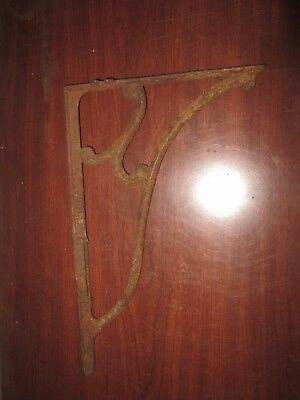 Antique Cast Iron Shelf Bracket  NAME= BIGNALL