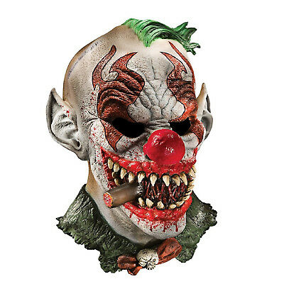 Scary Fonzo The Clown Adult Foam Latex Mask Halloween Party Costume Cosplay Prop