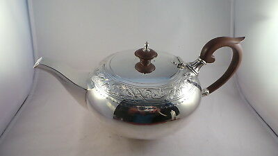 Top Quality Nice Design Sterling Silver Teapot Sheffield 1929