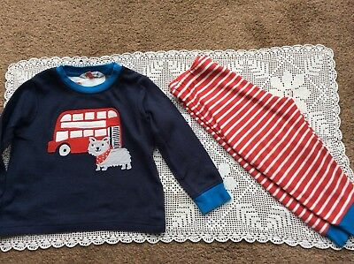 John Lewis London Bus baby boy pyjamas age 9-12 months in excellent condition.