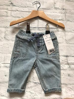 Baby Girls Clothes 0-3 Months - Cute Jeans Trousers -New-