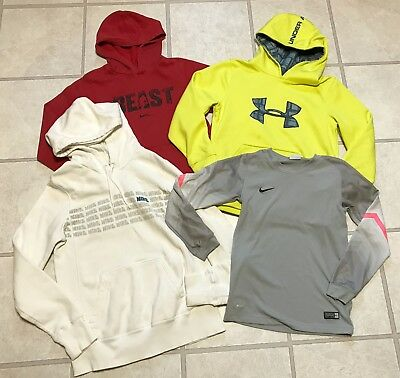Nike Under Armour Lot Boys Size Medium 8 - 10 Hoodie