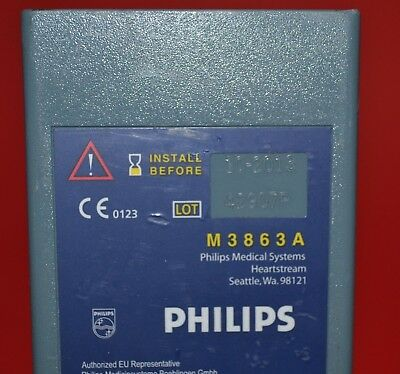 Philips Medical Systems Heartstream M3863A Battery LiMnO2 10-2013