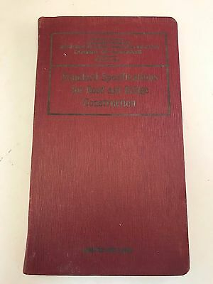Old 1936 Illinois STANDARDS Specifications ROAD Highway & BRIDGE CONSTRUCTION