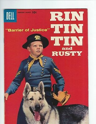 DELL RIN TIN TIN and RUSTY #23 (VGF 5.0) PHOTO COVER