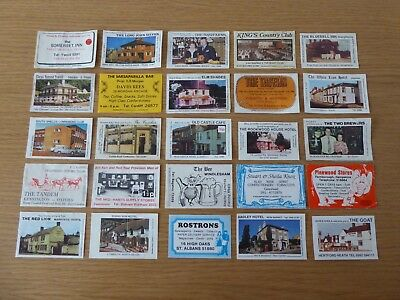 25 Matchbox Labels From Bouldens