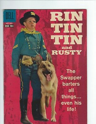 DELL - RIN TIN TIN and RUSTY #27 (F 6.0) PHOTO COVER