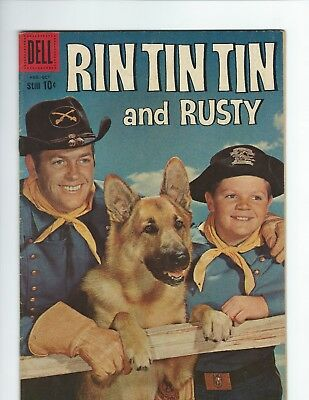 DELL - RIN TIN TIN and RUSTY #31 (VGF 5.0) PHOTO COVER