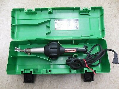 Leister Triac ST Hot Air Welder Tool 141.228 w/ Case