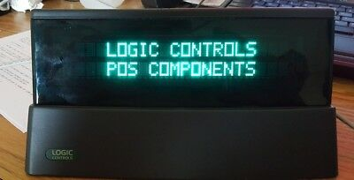 Logic Controls LT9900U-GY POS Point of Sale table top display