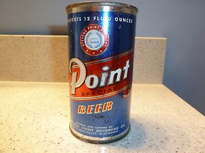 Point Flat Top Can - rare silver trim  (USBC 116-19) nice condition