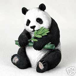 "NEW Panda Bear Bears 4"" in Figurine Sculpture Statue Life Like Realistic CC-AF04"