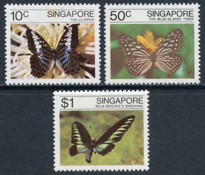 Singapore 1982 Butterflies MNH