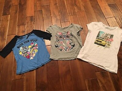 Justice Lot Of Shirts - Size 16