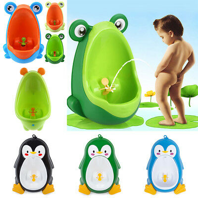 Animals Shaped Kids Baby Potty Toilet Training Urinal Boys Pee Trainer Bathroom