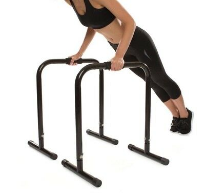 2 X Parellel Equaliser Bar - Multi Purpose Work Arm Chest Back Core Muscle