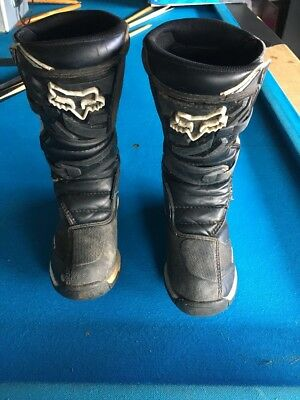 Boys Youth Fox Comp 5 Motocross Dirtbike Boots Youth 4