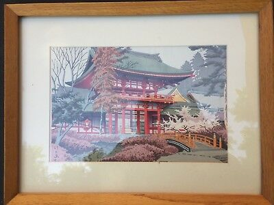 Japanese Woodblock Print From turn of the century offered in true auction format