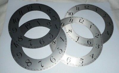 4 Vintage Metal Clock Chapter Rings - For Clock Repairs / Steam Punk Projects